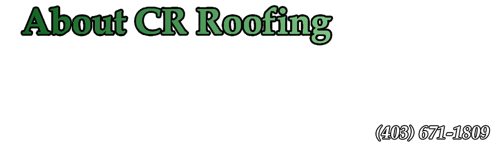 About CR Roofing